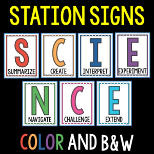 The Science Duo knows the pressure to reach all of your students can be overwhelming. Learn how their S.C.I.E.N.C.E. Station Labs can make it possible.